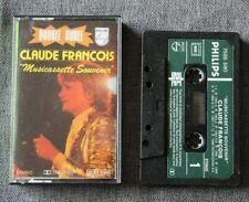 Claude François, musicassette souvenir, K7 audio / Audio tape