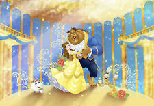 Disney - Foto-Tapete - Beauty and the Beast - Größe 368x254 cm - 8-teilig