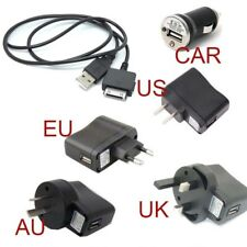 Battery Wall AC Charger+USB CABLE FOR MICROSOFT ZUNE HD MP3 mp4 Zune 30G-120G sx