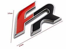 FR Emblem Zeichen Schriftzug Aufkleber Logo für SEAT IBIZA LEON ALTEA CUPRA NEU