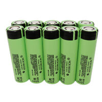 10X 18650 Battery NCR18650B High Drain 3400mAh 3.7V Li-ion Batterie Rechargeable