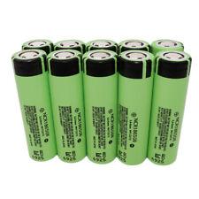 10X 18650 3400mAh alto consumo de NCR18650B 3.7V Li-ion Batería Recargable