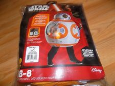 Child One Size 5-7 Disney Star Wars Inflatable Deluxe BB8 Halloween Costume New