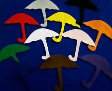 Many Colored Umbrellas Felt set for the Story Board