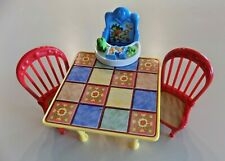 Fisher-Price Loving Family Kitchen Table, Chairs, Highchair Seat