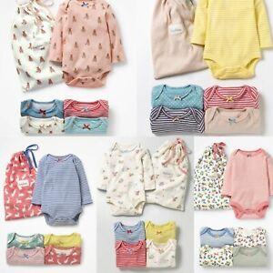 New Baby Mini Boden Girls Single Bodysuit Stripes & Prints 0/3 Mnths - 2/3 Yrs