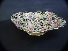 ANTIQUE ROYAL WINTON GRIMWADES BOWL '' BALMORAL''FLORAL ALL OVER DESIGN C1930's