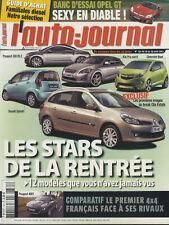 L'AUTO JOURNAL n°731 16/08/2007