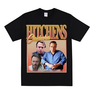 CHRISTOPHER HITCHENS Homage T-shirt - Vintage Tshirt 90s Tee Shirt Unisex Top