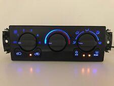 00-02 Tahoe Silverado Sierra AC Heater Control w/ Defrost BLUE LED LIGHTING