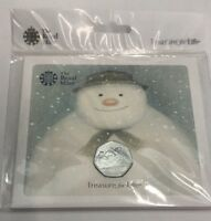 2018 SNOWMAN and JAME 50p Fifty Pence Coin BU Sealed In RM Official Presentation