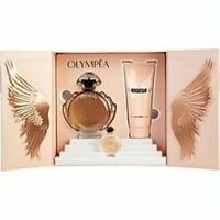 New Paco Rabanne Olympea Eau De Parfum And Body Lotion 3-Piece Gift Set