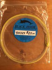 Black Hook Big Game Wind On Leader 400Lb 25' Clear