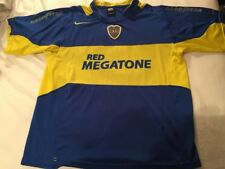 Nike CABJ Boca Juniors Red Megatone Soccer Jersey Men's Size Medium