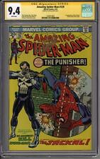 Amazing Spider-Man #129 CGC 9.4 Stan Lee Signature Series (W) 1st Punisher