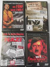 Paket Sammlung 2. Weltkrieg Kriegsdoku - Adolf Hitler Mein Kampf, D- Day, Nazi