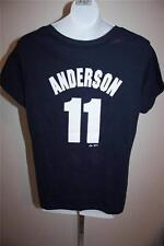 NEW-FLAWED MLB Sparky Anderson #11 Detroit Tigers WOMENS XLARGE XL T-shirt 29SU