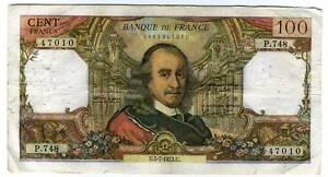 100 francs CORNEILLE   P 748