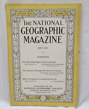 The National Geographic Magazine July 1924 Country Through Airman's Camera