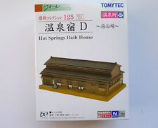 Tomytec N Scale 253150   125  Japanese Style Hot Spring Hotel D 4543736253150