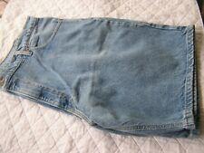 Carhartt washed jean shorts   size 42