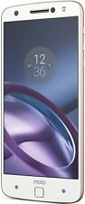 Motorola Moto Z Xt1650-03 64Gb Unlocked Gsm 4G Lte Android Phone - White/Gold