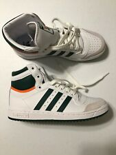 adidas Originals Top Ten Miami Hurricanes Mens Size 7 NCAA basketball