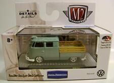 1961 '61 VOLKSWAGEN VW DOUBLE CAB TRUCK USA M2 MACHINES DIECAST 2016