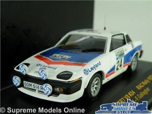 TRIUMPH TR7 MODEL RALLY CAR 1977 1:43 SCALE IXO RAC056 RAC TONY POND V8 K8
