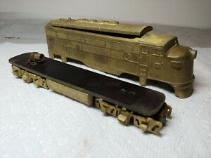 Vintage Schorr American OO Scale Gauge   Engine Brass cast EMD F3 A unit 1949-