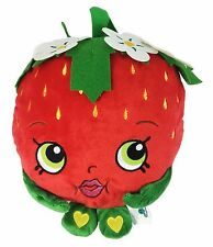 "Shopkins Authentic Strawberry Kiss 12"" Large Soft Plush Gift Toy"