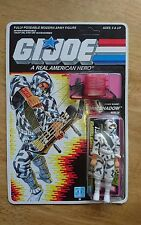 Gi joe v2 storm shadow mint on card moc vintage unpunched pristine condition afa