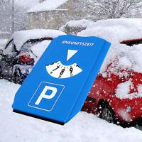 Car Windshield Shovel Ice Scraper Car Parking Time Sign Timer Clock Snow Remo JG