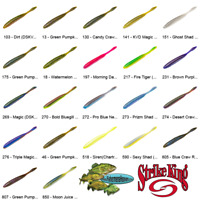 Strike King Dream Drop Shot MAGNUM 5 Inch (DSKVD5) Pick Any 22 Color Baits