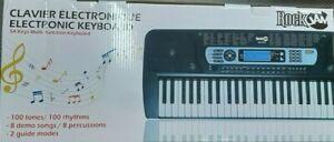 Rock Jam Electronic Keyboard Model RJ654 - 54 Keys - E19