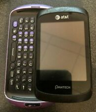 Pantech Swift P6020 Purple (Unlocked) Cellular Phone Fast Ship Touch Fair Used