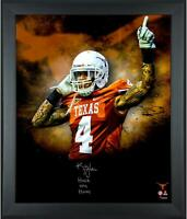 Kenny Vaccaro Texas Longhorns Framed Signed 20x24 In Focus Photo & Insc