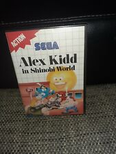 Sega master system Alex Kid In Shinobi World,boite Vide