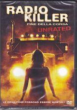 Dvd **RADIO KILLER ♦ FINE DELLA CORSA** unrated nuovo 2008