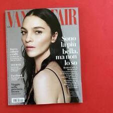 Vanity Fair Magazine Italia Italy Mariacarla Boscono NEW