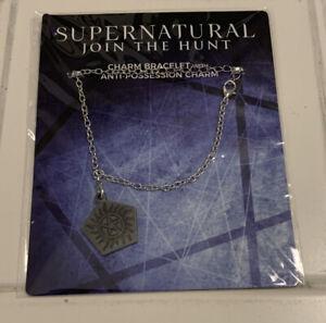 Supernatural Anti-Possession Charm and Bracelet NEW