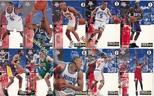 1994-95 COLLECTOR'S CHOICE LOTTERY PICKS COMPLETE SET(10): JASON KIDD/GRANT HILL