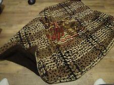 "Vintage Chase Horsehair Lap Blanket Sleigh Ride Throw Horse Head pic 62"" x 45"""