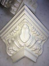 LOT 10Foam Corner Blocks Crown Molding Acanthus Mitre Fit Architectural Ornament