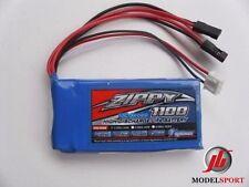 Zippy Flightmax 1100mah 6.6 v 2s receptor batería vida