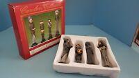 Holiday Figures Windsor Collection 4 Christmas Carolers Tall Skinny Family