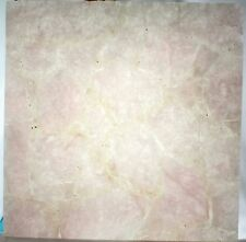 Handmade Semi precious Rose Quartz stone coffee table top Home Decorative item