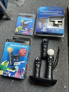 Sony PS3/PS4 Move Wireless Controller with 2x Navigation Control - Mint Bundle