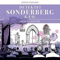 DETEKTEI SONDERBERG & CO - UND DER FAUSTISCHE PAKT 2 CD NEW EHRHARDT,DENNIS