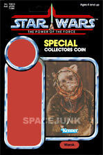 STAR WARS: POWER OF THE FORCE Warok (1985) Repro Kenner Cardback